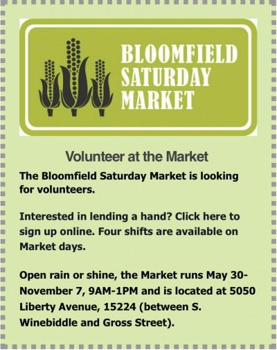 Saturday Market ad