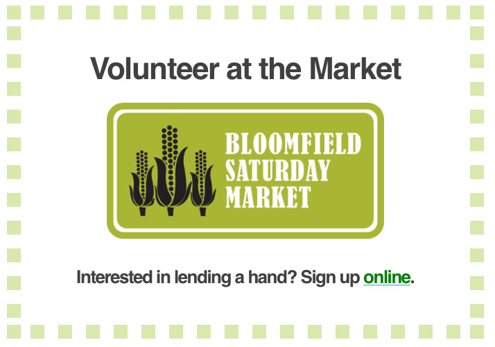 Volunteer at Market